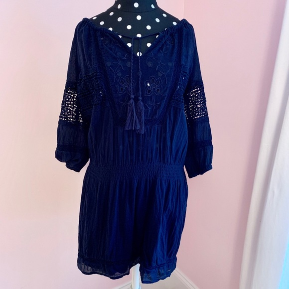 Abercrombie & Fitch Dresses & Skirts - Navy Blue Lace Cut Out Dress